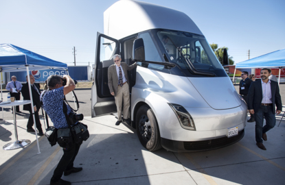 Why you'll see electric Tesla semis rolling out of Modesto's Frito-Lay plant soon