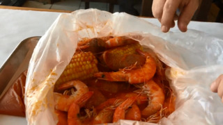 The shrimp, and everything else, is in the bag at Turlock's Shrimpy's