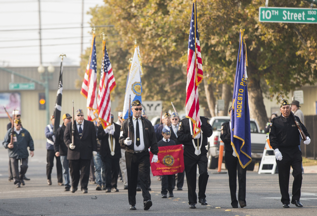 Salute those who served: Your guide to Veterans Day events in the Modesto area