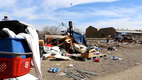 Union Pacific clears Turlock homeless camps along railroad. Where will people go now?