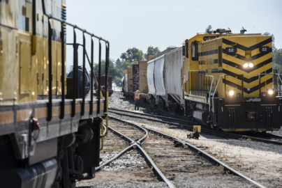 See the action at Oakdale train yard
