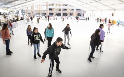 One Stanislaus County seasonal ice rink closed due to COVID, but another plans to open