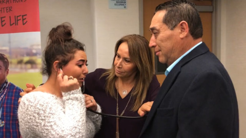 'This is the gift of life, mija.' Years after dad's death, Ceres teen hears heart go on