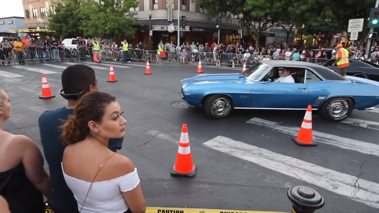 More than 1,000 classic cars cruised Modesto streets as part in the