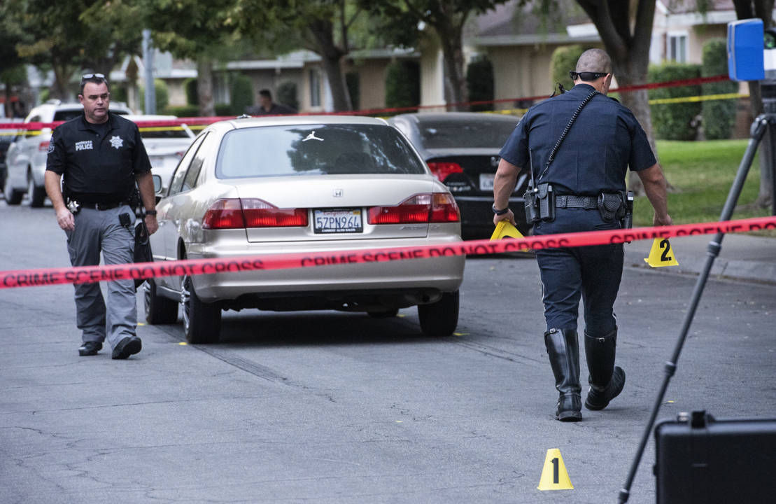 Car strikes 2-year-old on northwest Modesto street, police say; injuries unknown