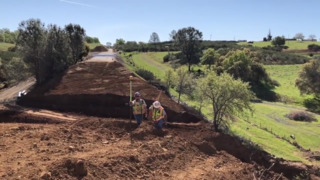 Watch Caltrans repair Highway 132 in Mariposa County