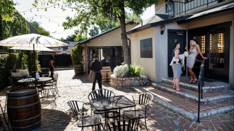 Old Portofino building on Modesto's McHenry Avenue finds new life as wine bar, salon
