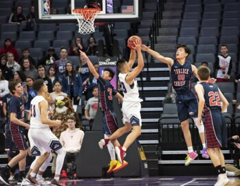 """It was just """"one of those games."""" Turlock Christian boys hoops falls in section title."""