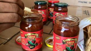 Hughson mom and son start selling great aunt's salsa