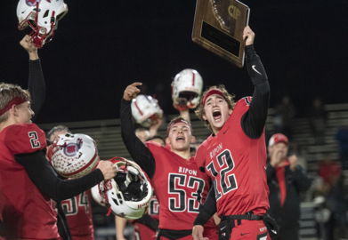 We'll root for both Ripon and Escalon football teams. Which one to watch? Flip a coin