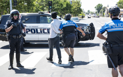 Police don't need your macho help. Counterprotesters at George Floyd rallies must stand down