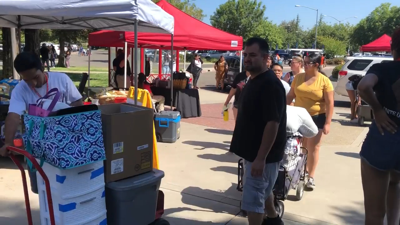 Who goes to Stanislaus State? Chats with freshmen on move-in day give a feel