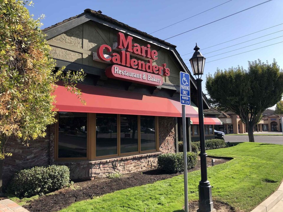Marie Callender's is coming back, Modesto. Popular chain restaurant, bakery reopening