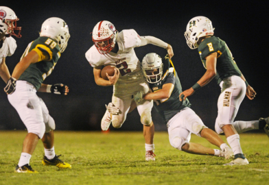 Led by Miguel's four touchdowns, Hilmar beats Ripon in TVL opener.