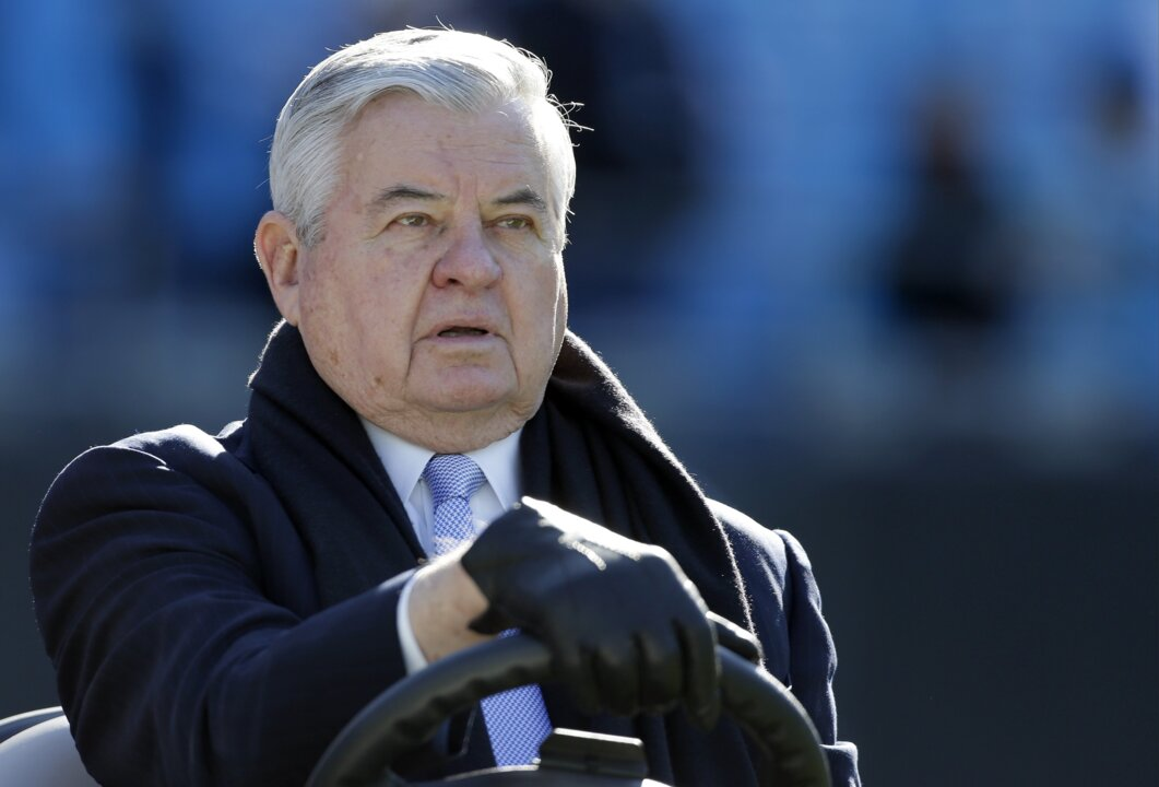 'I'd pamper you more': Jerry Richardson accuser details alleged sexual abuse