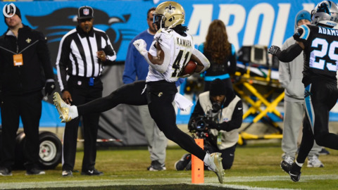 Saints Alvin Kamara commands Panthers attention