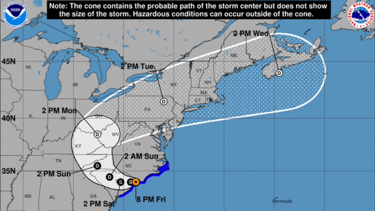 Hurricane Florence: Storm strengthens, Wilmington NC in path ... on