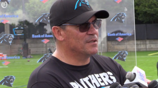 Coach Ron Rivera talks about the work being put in during OTAs