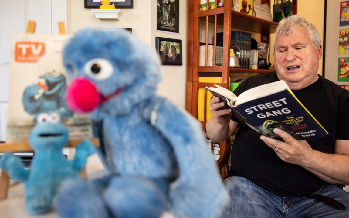 How did NC writer's book on 'Sesame Street' become a buzzed-about movie? Verrry slooowly.