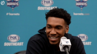 Charlotte Hornets guard Malik Monk explains how he stayed focused, what he'll do next