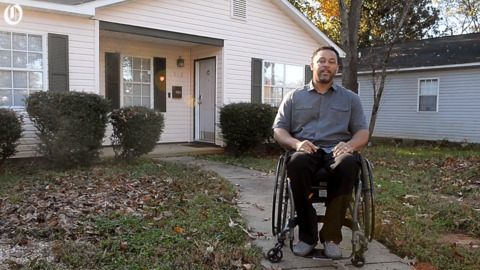 """Former incarcerated man turned home owner: I am home, I own it"""""""
