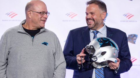 Panthers owner David Tepper talks about how involved he'll be choosing new players