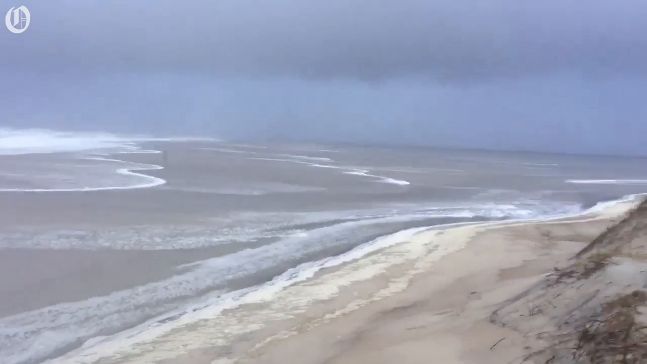 Tides rose and beaches flooded as Outer Banks endured combined equinox and supermoon