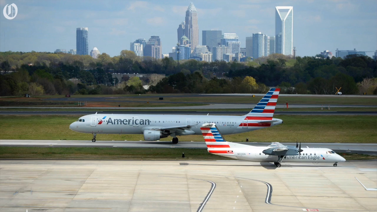American Airlines Cancels Charlotte Airport Flights