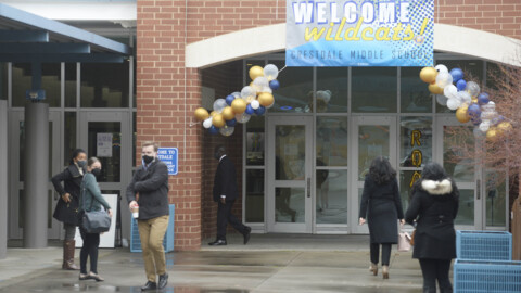 CMS Superintendent gives assessment of first day back for middle, high schoolers