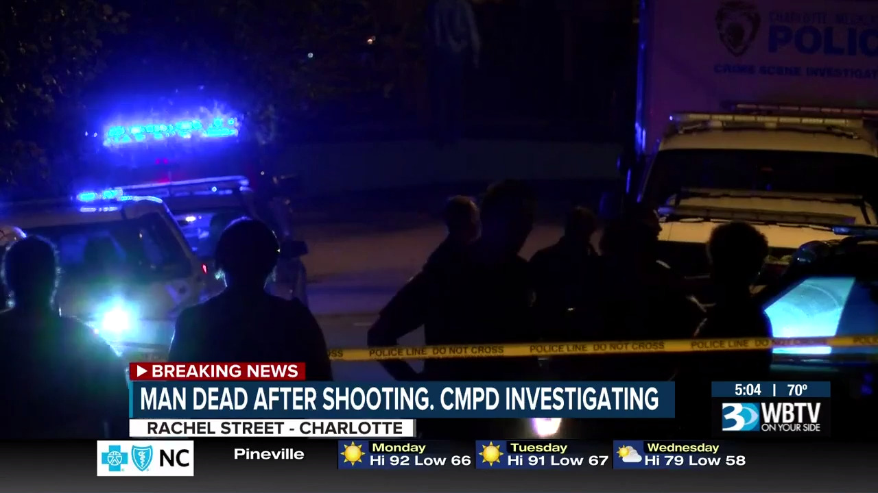 Man found shot to death in north Charlotte driveway