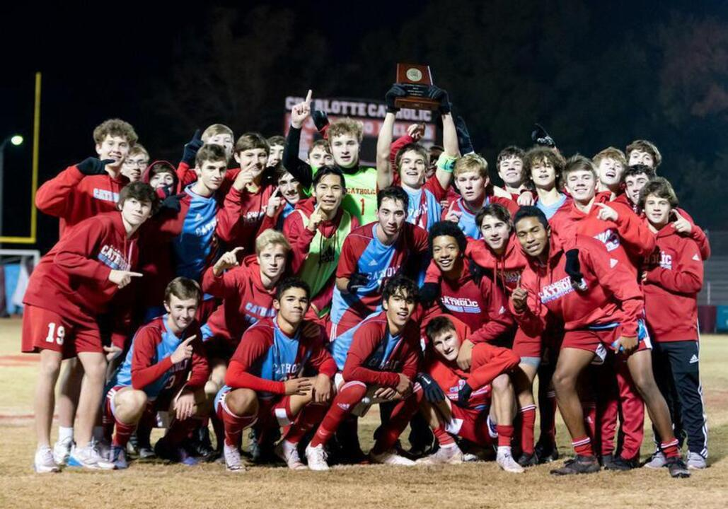 Charlotte Catholic soccer shuts out Concord, earns state title bid