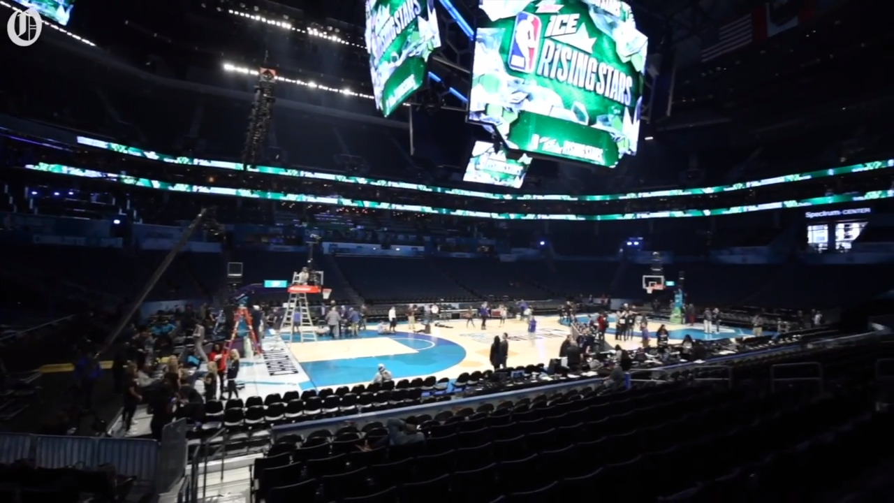 Spectrum Center changes ahead of NBA All-Star Game