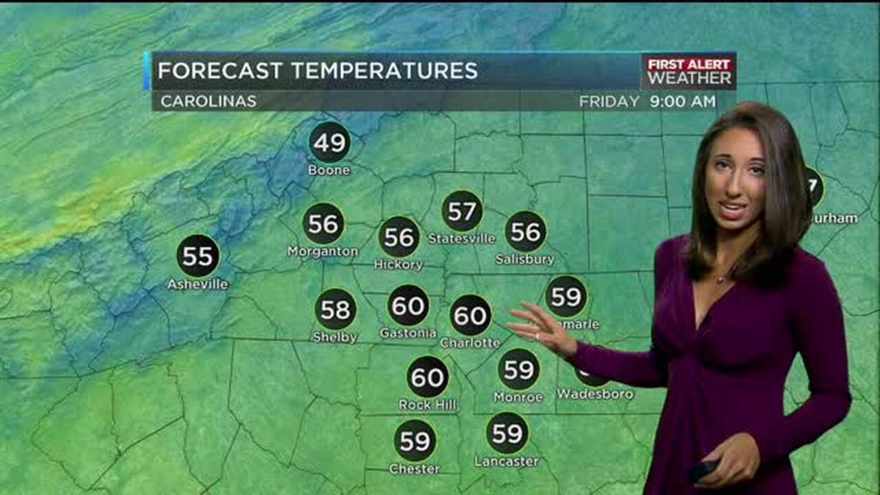 WBTV First Alert Weather forecast for 10 14 16 | Charlotte
