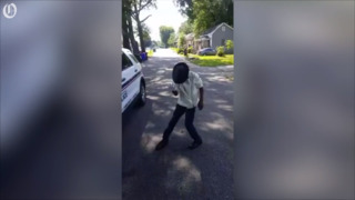 12-year-old shows off Michael Jackson's moves