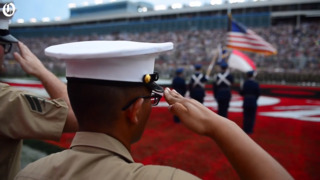 'Taps' honors fallen service members at Charlotte Motor Speedway