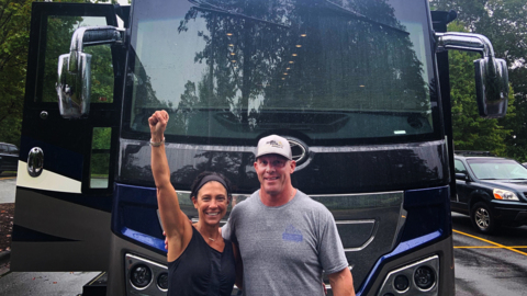 Charlotte QB Chris Reynolds' parents drove to Boone to support him -- even though they couldn't see him