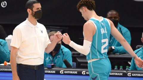 Charlotte Hornets coach James Borrego on his team's game and practice pause