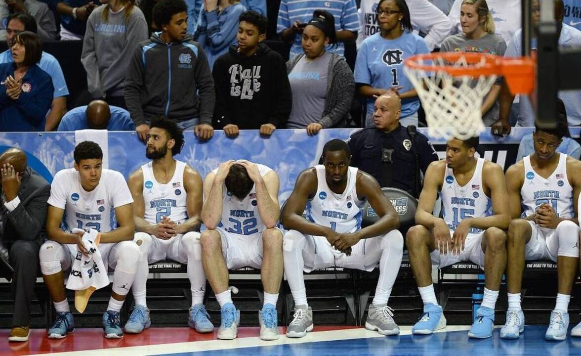 d61dace5a735f8 UNC blues  Here s how Texas A M manhandled the Tar Heels in NCAA tournament
