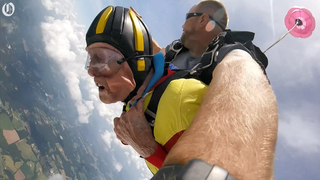 Jack Hart, the 99-year-old skydiver