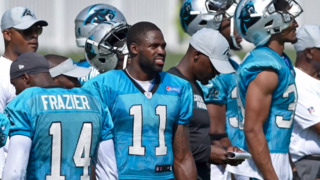 Panthers Torrey Smith shares message with youth