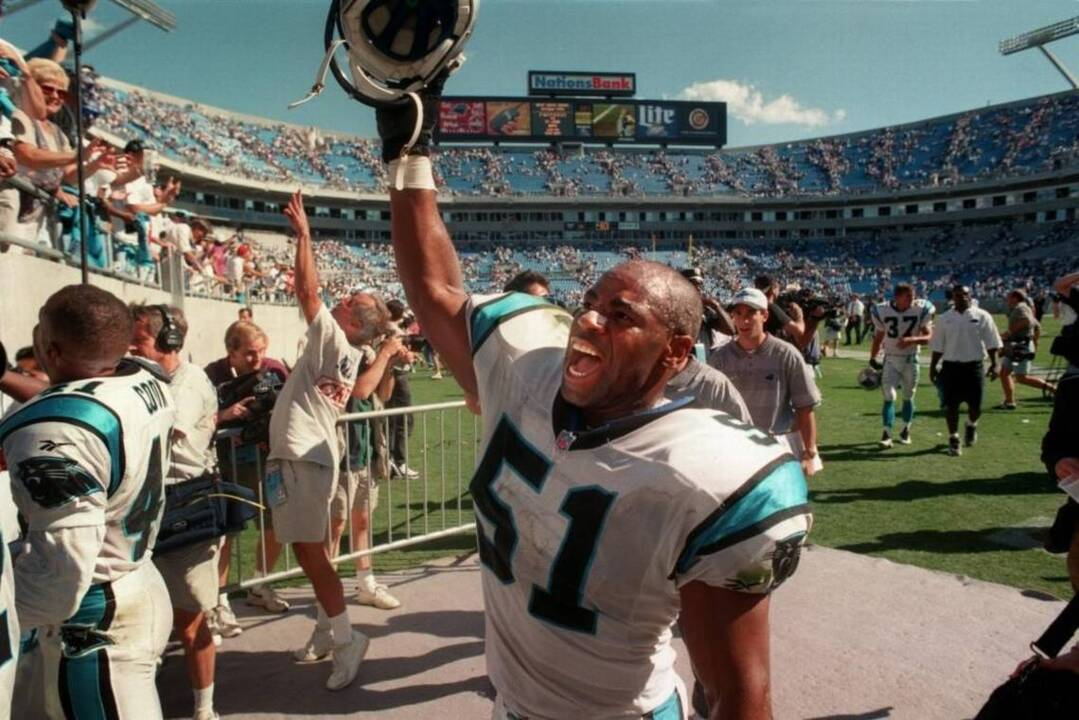 sale retailer fcb73 6318a NFL   Sam Mills biography on NFL Network   Review   A ...