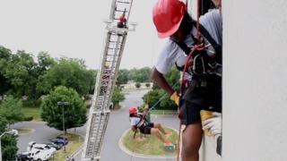 Charlotte Fire Department's Camp Ignite for female firefighters
