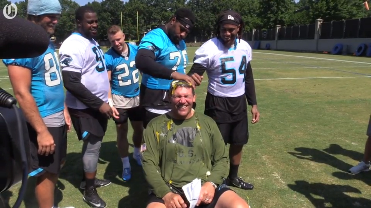 c4a238ffa81 Make-A-Wish kid practices with McCaffrey, Carolina Panthers | Charlotte  Observer