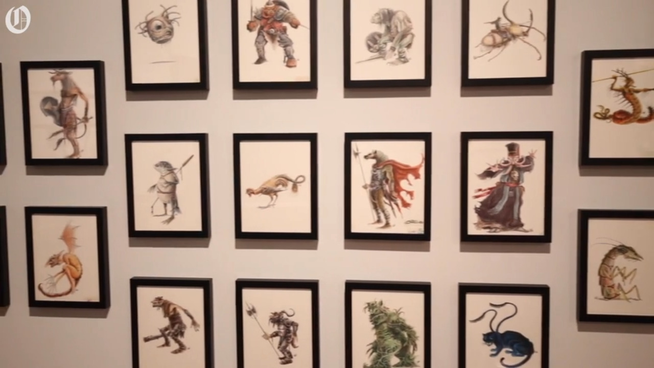 This famous 'Dungeons & Dragons' illustrator and his drawings are coming to Charlotte