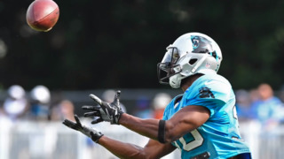 Panthers' Elijah Hood works to make the hometown team