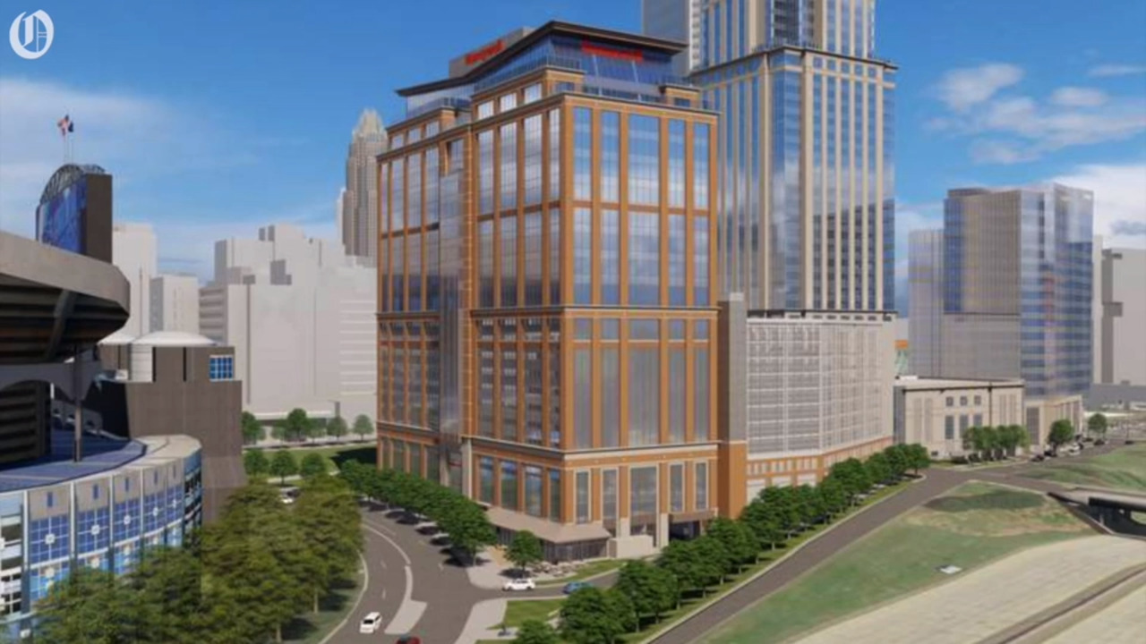 New Honeywell tower underway in uptown. Company hopes for 'profound' local impact