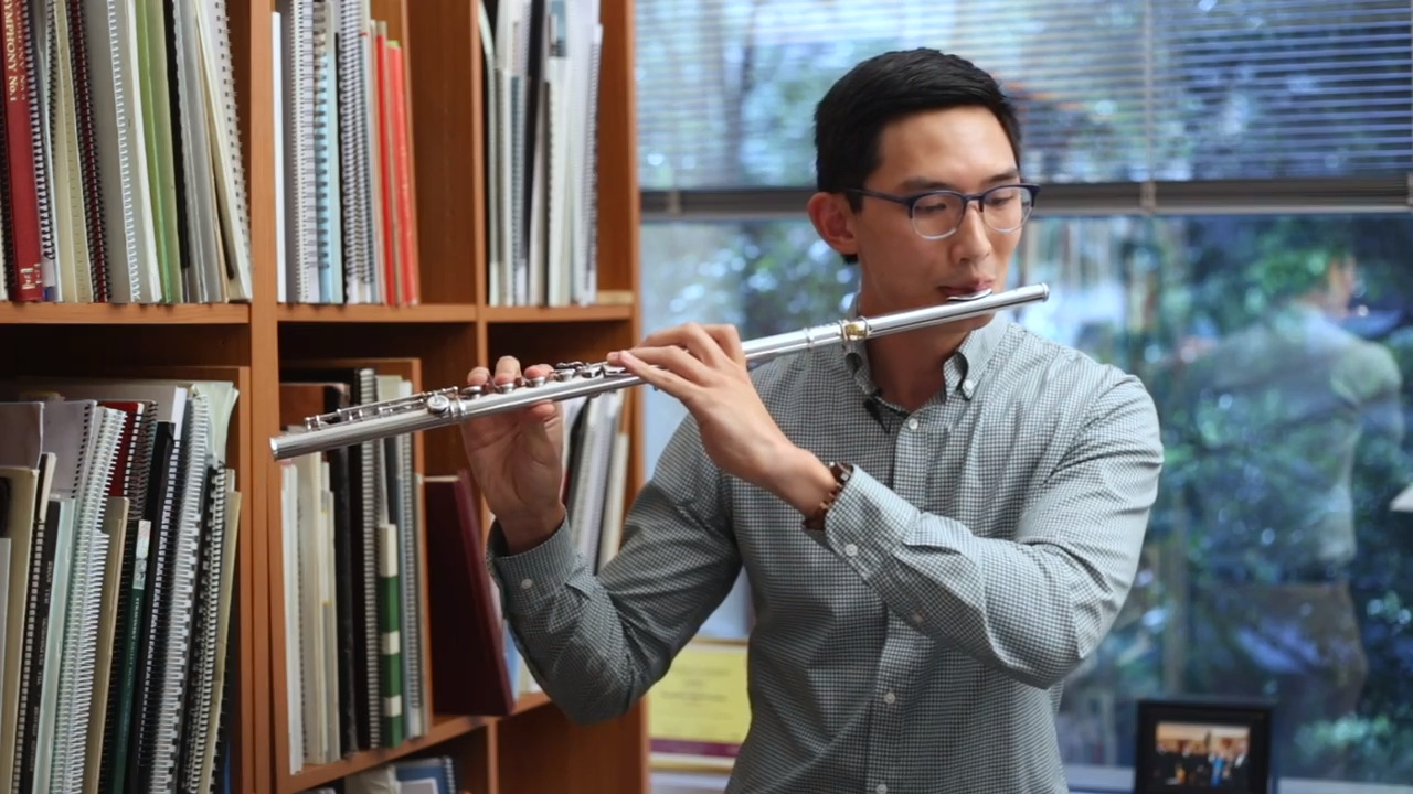 1 to Watch: Victor Wang. What turned him from microbiology at Yale to the flute?