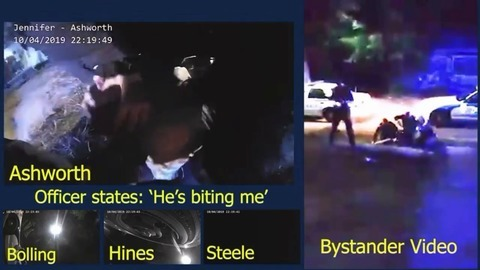Man turns officers' own stun gun on them during violent arrest in NC, body cams show