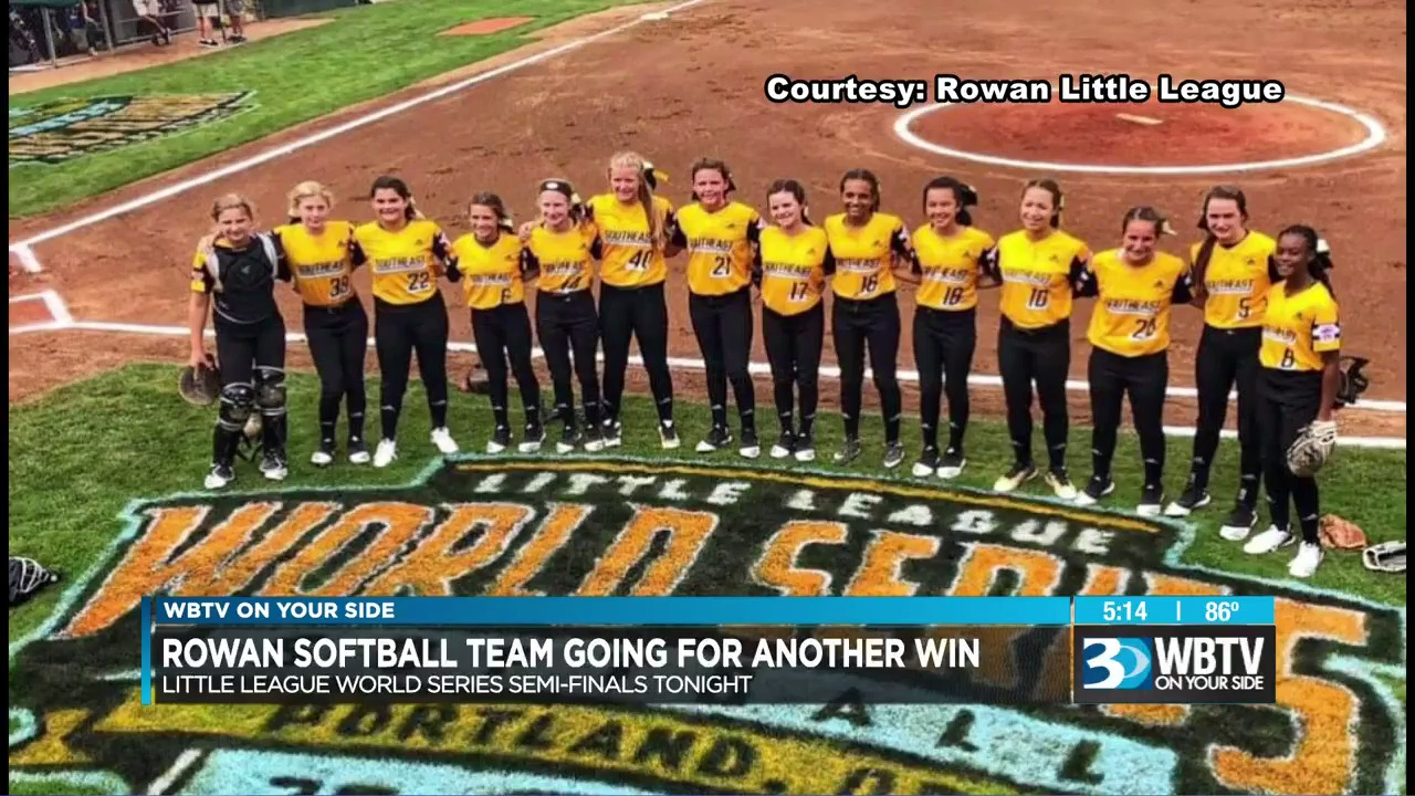 NC Little League team to play in softball World Series