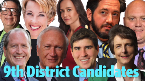 With candidates set, what happens next in the NC 9th District special election?